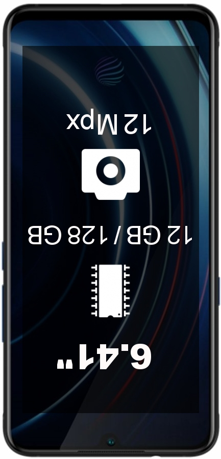 Vivo iQOO 12GB 128GB smartphone