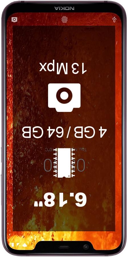 Nokia 8.1 TA-1128 smartphone