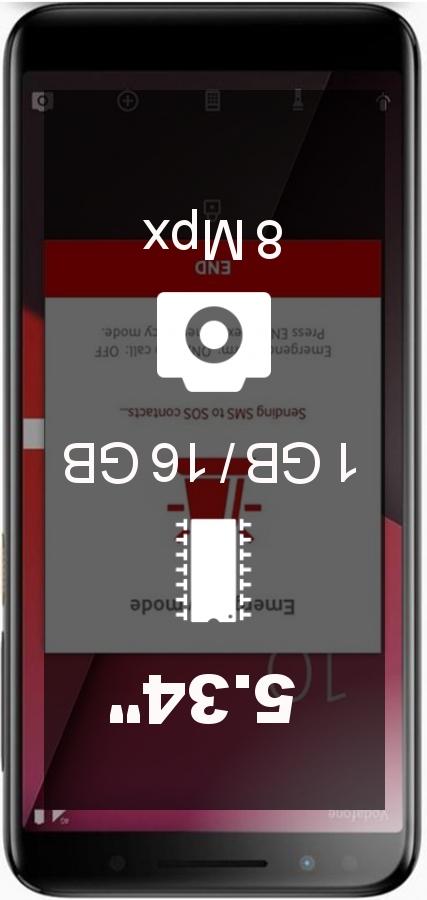 Vodafone Smart N9 Lite smartphone | Cheapest Prices Online