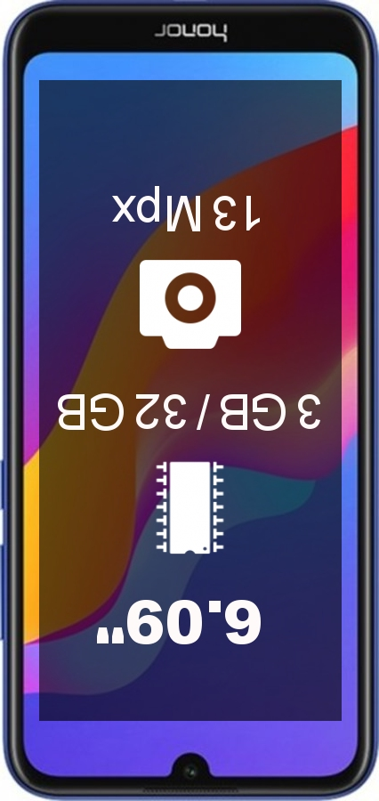 Huawei Honor Play 8A AL00 32GB smartphone
