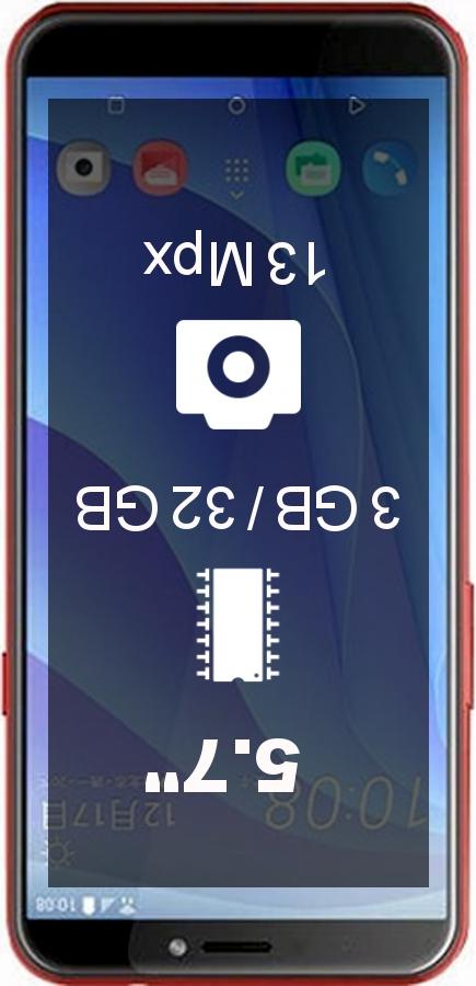 HTC Desire 12s 3GB 32GB smartphone