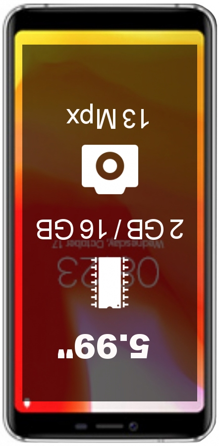 AllCall S5500 smartphone