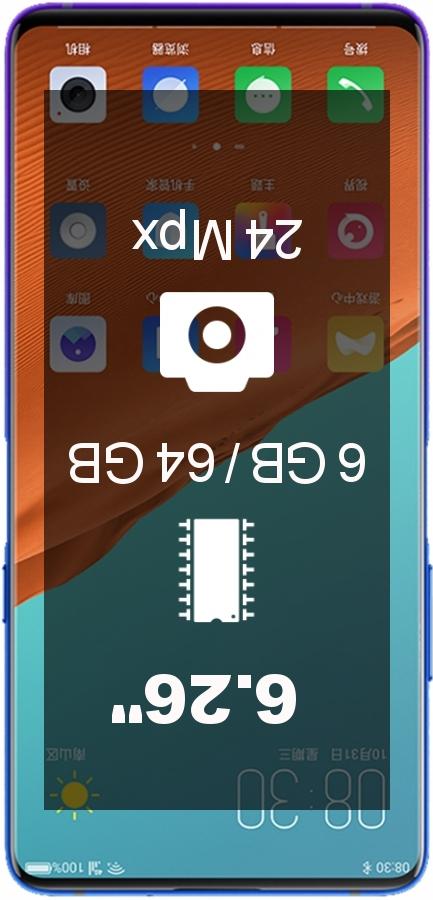 Nubia X 6GB 64GB smartphone