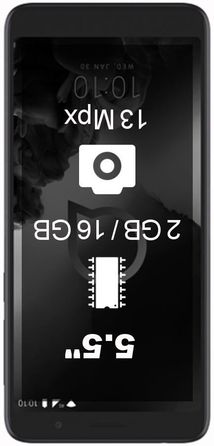 Alcatel 1X (2019) smartphone