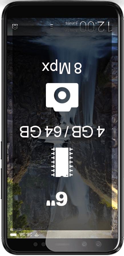 Weimei We Plus 3 smartphone