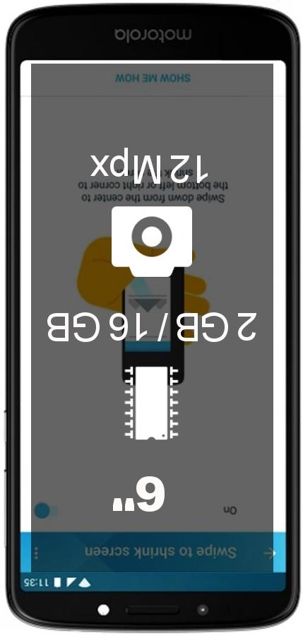 Motorola Moto E5 Plus 2GB 16GB smartphone
