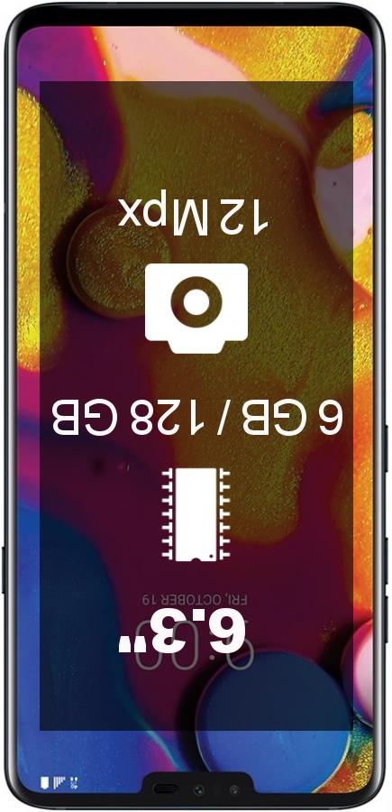 LG V40 ThinQ EMEA 128GB smartphone