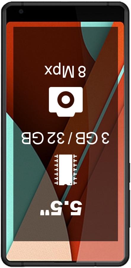 Bluboo D5 Pro smartphone