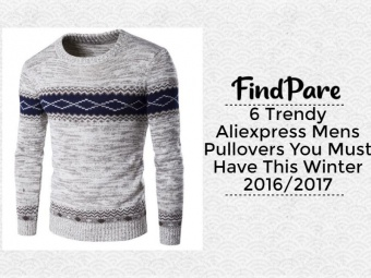 6 Trendy Aliexpress Mens Pullovers You Must Have This Winter 2016/2017