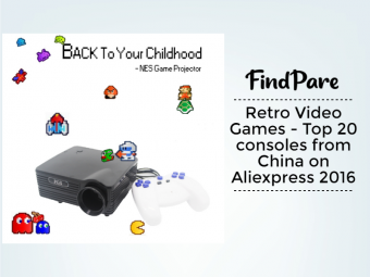 Retro Video Games - Top 20 consoles from China on Aliexpress 2016