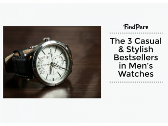 The 3 Casual & Stylish Bestsellers in Men's Watches