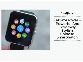 ZeBlaze Rover - Powerful And Stylish Chinese Smartwatch