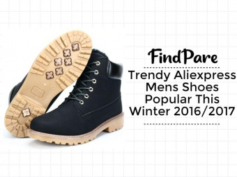 Trendy Aliexpress Mens Shoes Popular This Winter 2016/2017