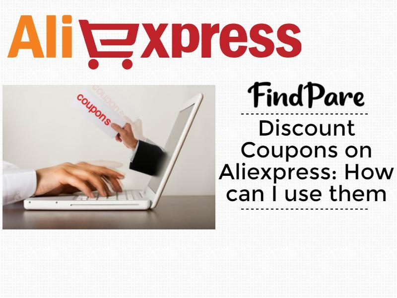Discount Coupons on Aliexpress: How can I use them