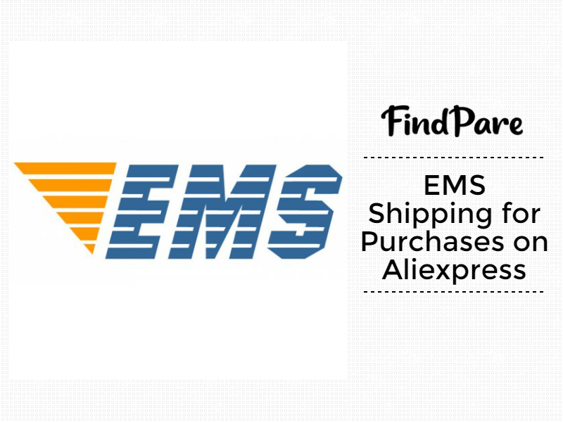 EMS Shipping for Purchases on Aliexpress