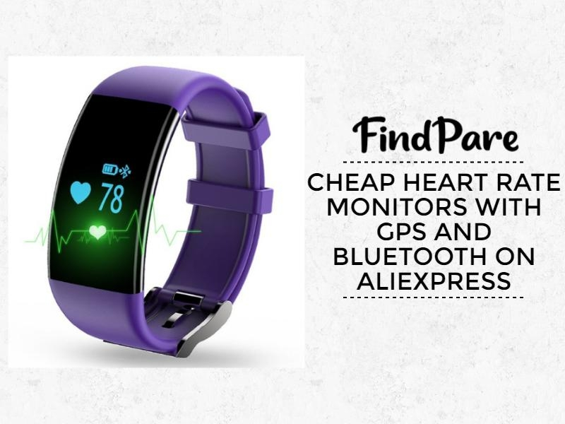 Cheap heart rate monitors with GPS and BLUETOOTH on Aliexpress