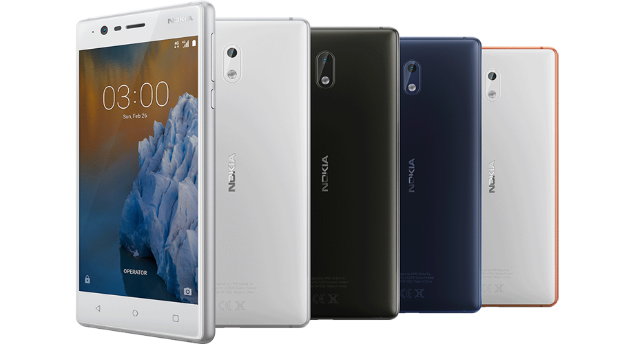 Nokia's first Android Phone: Nokia 3