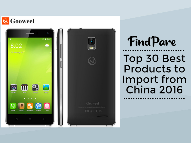 Top 30 Best Products to Import from China 2016