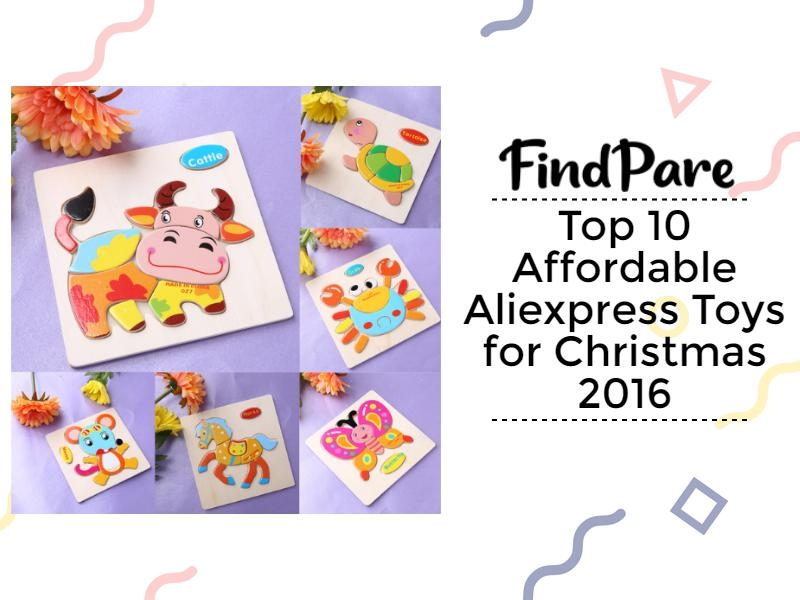 Top 10 Affordable Aliexpress Toys for Christmas 2016
