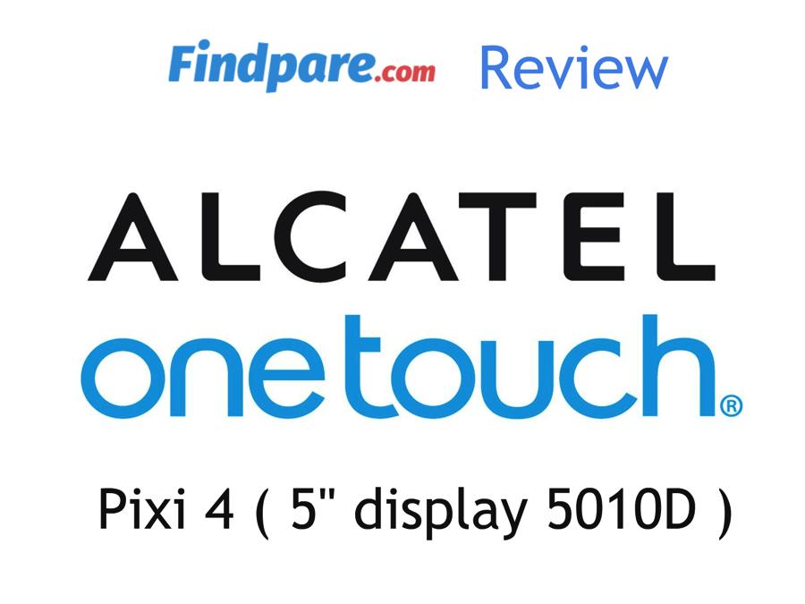 Alcatel Pixi 4 Review