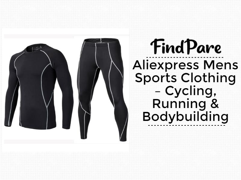 Aliexpress Mens Sports Clothing – Cycling, Running & Bodybuilding