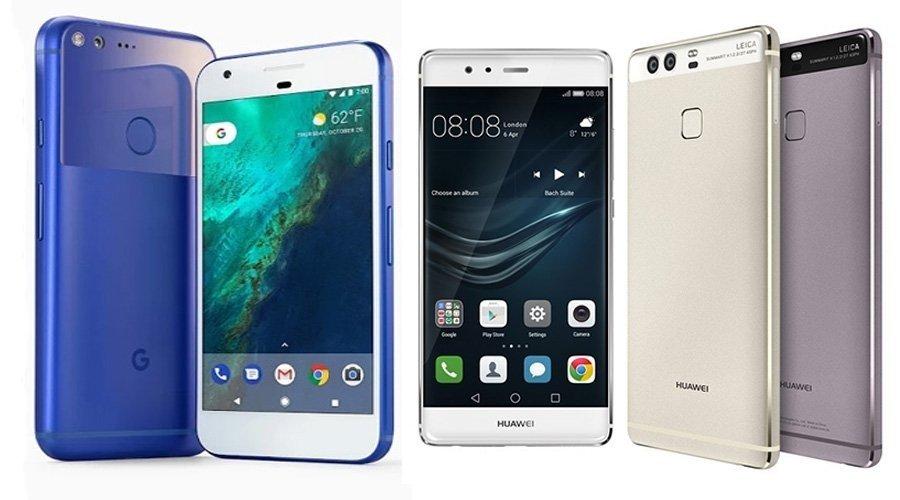 Huawei P10 vs Google Pixel: Battle of Two iPhone look a like