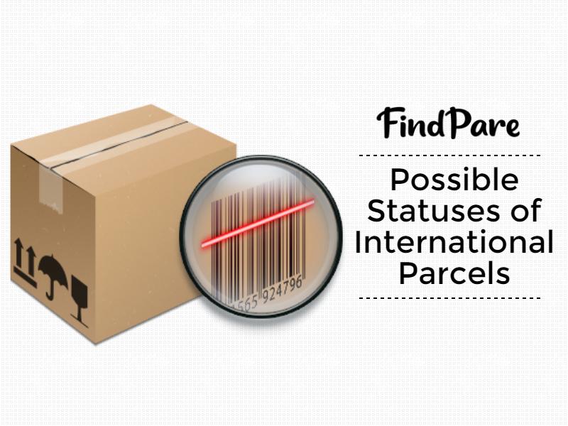 Possible Statuses of International Parcels