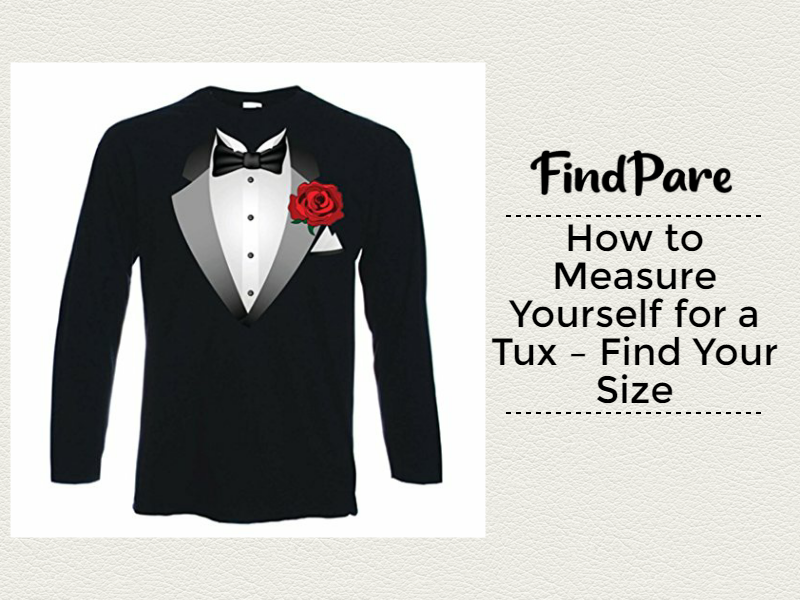 How to Measure Yourself for a Tux – Find Your Size