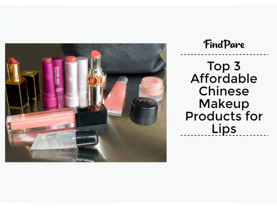 Top 3 Affordable Chinese Makeup Products for Lips