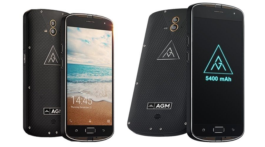 AGM X1 4G phablet, a real rugged smartphone by agm