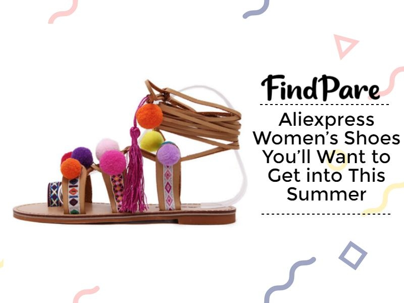 Aliexpress Women's Shoes You'll Want to Get into This Summer
