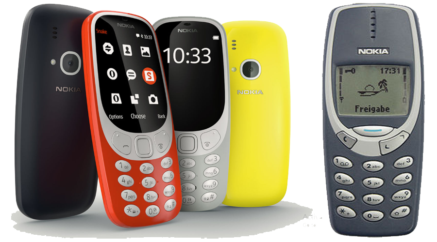 What's New to Nokia 3310 of 2017 vs Nokia 3310 (2000)