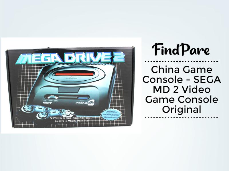 China Game Console - SEGA MD 2 Video Game Console Original