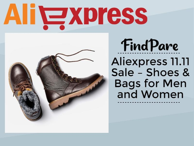 Aliexpress 11.11 Sale – Shoes & Bags for Men and Women