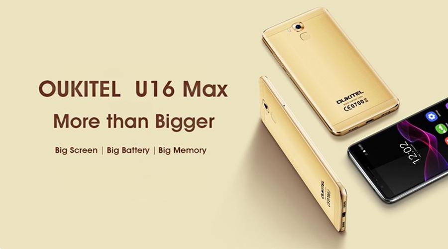 Smartphone OUKITEL U16 Max