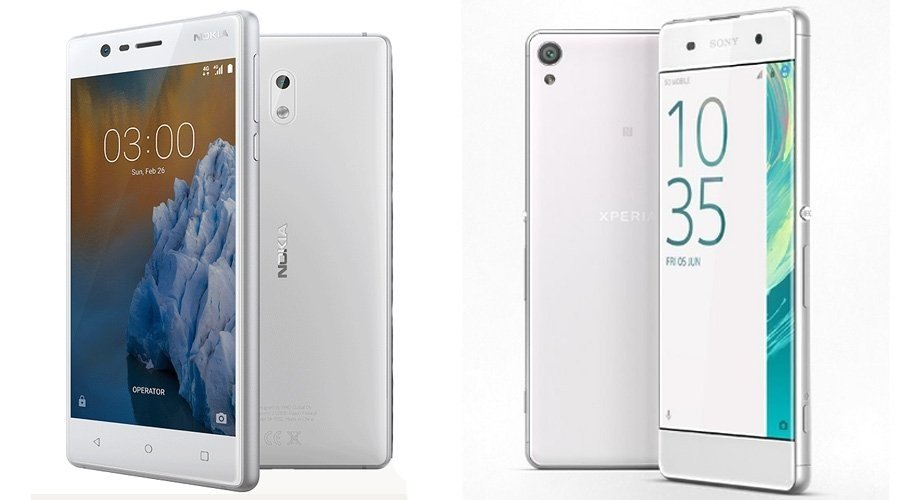 Nokia 3 vs Sony Xperia XA1, who will emerge this year?