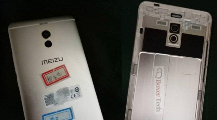 Meizu M6 Note: Leak Image reveals the Quad LED Flash and Dual Cameras