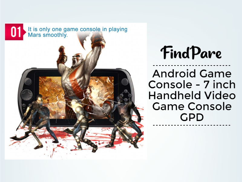 Android Game Console - 7 inch Handheld Video Game Console GPD