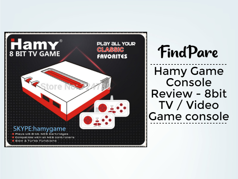 Hamy Game Console Review - 8bit TV / Video Game console