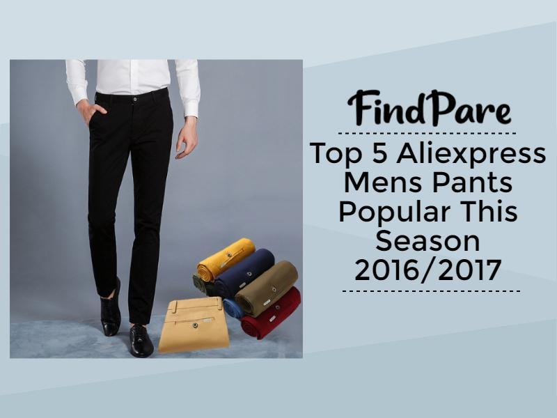 Top 5 Aliexpress Mens Pants Popular This Season 2016/2017