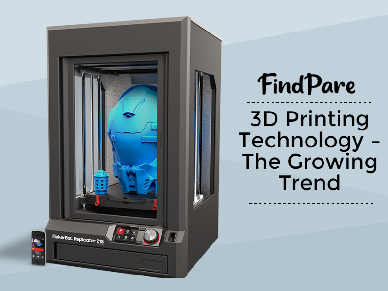 3D Printing Technology – The Growing Trend