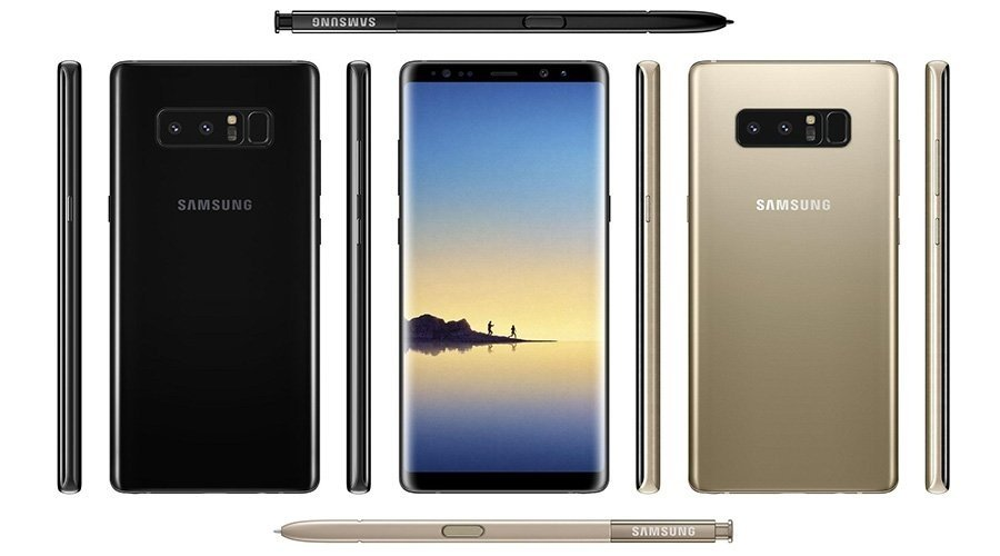 Samsung Galaxy Note 8 Leak:Remarkable Hardware with a Hefty Price Tag