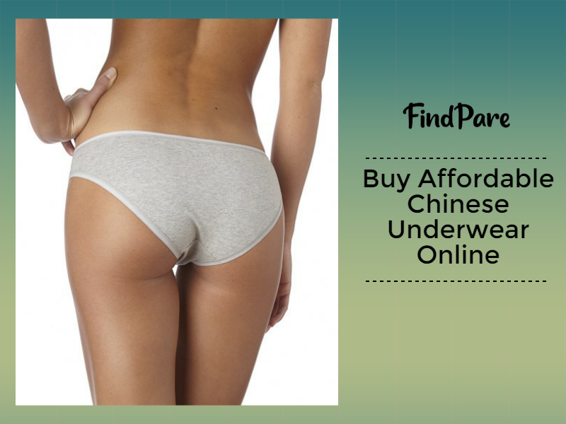 Buy Affordable Chinese Underwear Online on Aliexpress