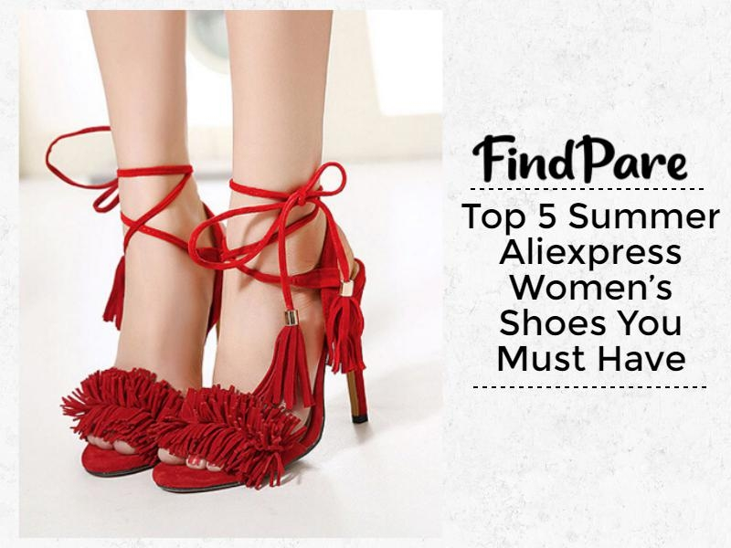 Top 5 Summer Aliexpress Women's Shoes You Must Have