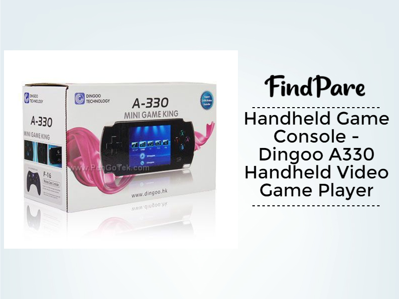 Handheld Game Console - Dingoo A330 Handheld Video Game Player