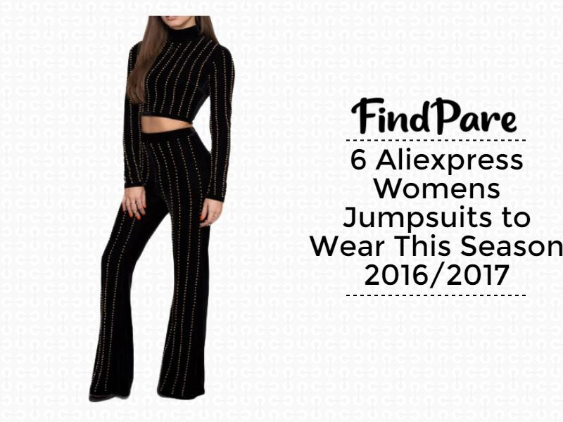 6 Aliexpress Womens Jumpsuits to Wear This Season 2016/2017