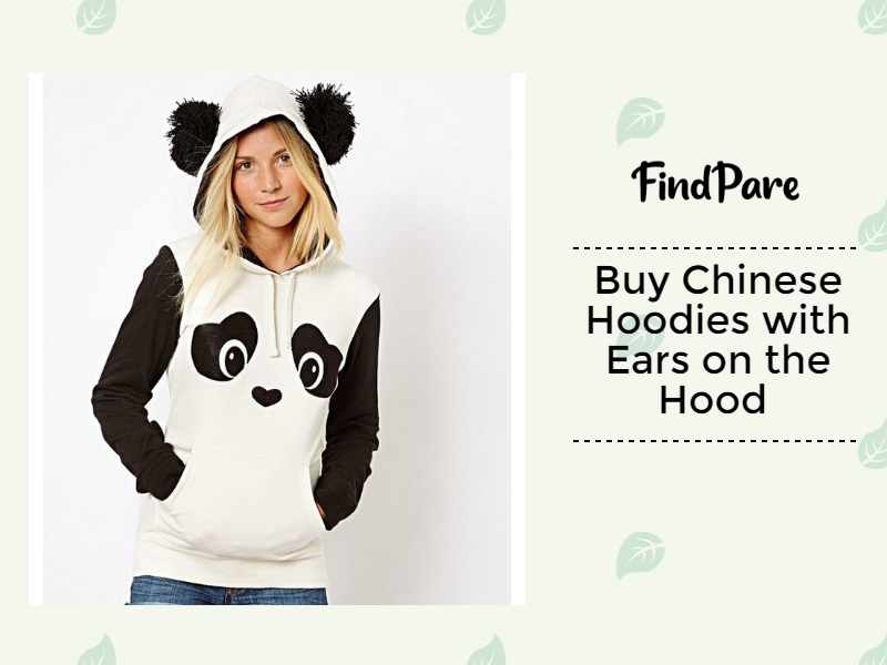 Buy Chinese Hoodies with Ears on the Hood